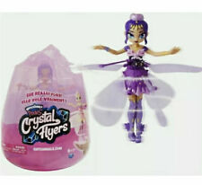 HOT! HATCHIMALS PIXIES CRYSTAL FLYERS CRYSTAL FLYER~PURPLE SEALED NEW FREE SHIP