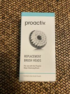 2 (Two) Proactiv Deep Cleansing Replacement Brush Head New In Box
