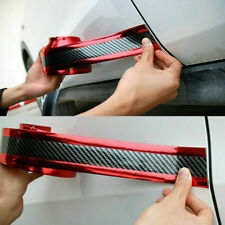 Car Sticker Carbon Fiber Rubber Door Sill Bumper Strip Protectors Accessories