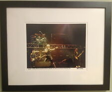 Judas Priest Long Beach Arena fine art photo in 16x20 framed 1982 signed 7/100