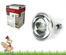 INFRA RED HEAT BULB LAMP CLEAR 150w 250W poultry chick brooder pig livestock pup