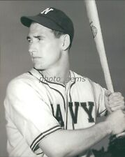 1940s Ted Williams Navy Batting Pose 8x10 Archival Photo