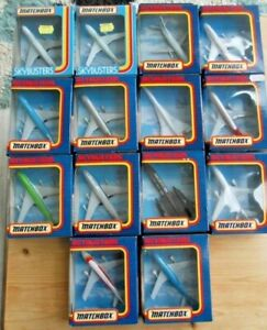 MATCHBOX, SKYBUSTERS, , ORIGINAL 1987 PACKS, CHOOSE FROM 14 AVAILABLE