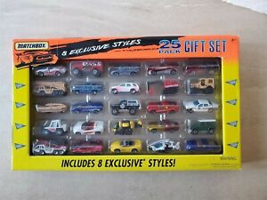 1997 MATCHBOX 25 PACK GIFT SET - 8 Exclusive Styles