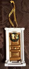 Door Christmas Tree Ornament ~ dated 2012 ~ Good Cond ~ Collectable