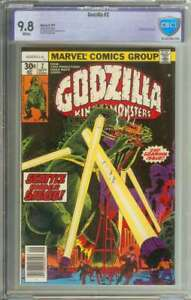 GODZILLA #2 CBCS 9.8 WHITE PAGES
