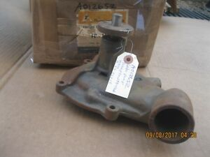 Water Pump 1955 - 1962 Ford  & Edsel  B5A-8501-C 1956 1957 1958 1959 1960 1961