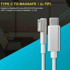 1,8 m Für MacBook Pro Typ C USB-C zu Magsafe1 L-Tip Adapterkabel