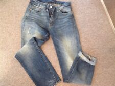 "Levis Vintage Clothing LVC da uomo 505 effetto invecchiato Cimosa Jeans 28""W 31""L"