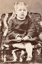 1870-1879 Pretty Blonde Girl, H. Kemp Oliographic Artist Photographer