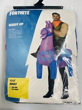 NEW Spirit Halloween FORTNITE GIDDY UP Adult One Size Costume 01444686
