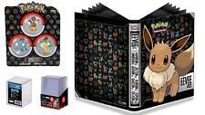 Pokemon Danglers Set – Eevee Glaceon Leafeon ULTRA PRO BINDER STORAGE BOX GIFT