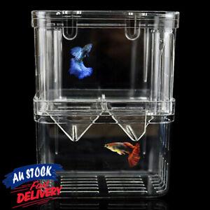 Fish Breeding Box Tank Isolation Multifunctional Incubator for Aquarium