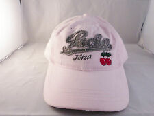 Pacha Ibiza Distressed Adult Pink Baseball Cap