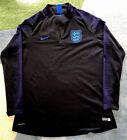 2018-2019 England Football Team Vaporknit Drill Top  Size Medium Ladies Preowned