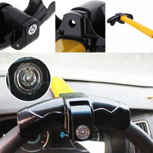 Universal Anti-theft Lock Car Steering Wheel Security Rotary Aluminum Lock Tool