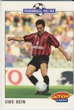 Panini Fussball 92-93 Action Cards #75 Uwe Bein Eintracht Frankfurt