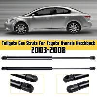 2X TAILGATE BOOT STRUTS FOR TOYOTA AVENSIS MK2 2003-2008 HATCHBACK 68950-09140