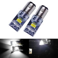 2x Ampoules BAY15D P21/5W 10W  LED Phare De Jour Lampe DRL Voiture Blanc 6000K