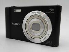Sony Cyber-shot DSC-W800 Digital Camera DSCW800/B - Black