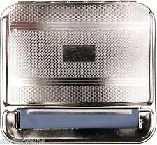 Zigarettenfertiger / Zigaretten-Rollbox / Metall / Gravurfeld
