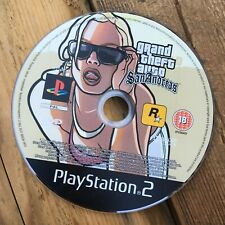 Grand Theft Auto: San Andreas (Sony Playstation 2) Video Game *DISC ONLY*