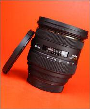 Sigma EX 24-70mm F2.8 DG HSM Zoom Lente Para Canon + tapas delanteras y traseras de lente