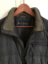Etro padded bomber coat jacket size S (Italian 46) in excellent condition