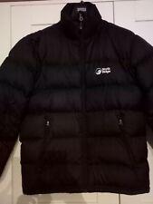 Mens NORTH RIDGE Black Puffer Padded Down Winter Coat - Small