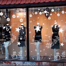 Christmas Stickers Tattoo Bilder Wand Fenster Dekoration Weihnachten Deko PVC HS
