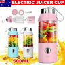 500ml Electric Portable Fruit Juicer USB Smoothie Maker Blender Juice Bottle Cup