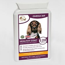 Omega 369 Fish Oil + Vitamin E High Strength Formulated for Dogs (120 Gels)