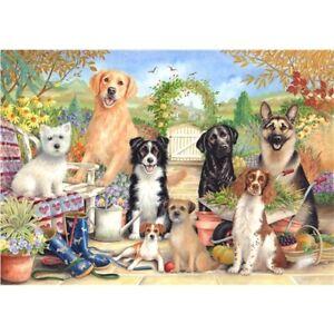 NEW Dog Jigsaw Puzzle 500 Piece Labrador Jack Russell Westie Spaniel GSD