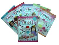 Princess 6 Books Sticker and Activity Fashion Pop Star Cupcake Animal Girl New