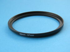 62mm to 67mm Step Up Step-Up Ring Camera Filter Adapter Ring 62-67mm