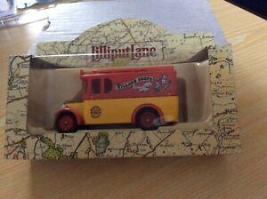 Lilliput Lane Village Shops Van - The Toy Shop. Original Box.