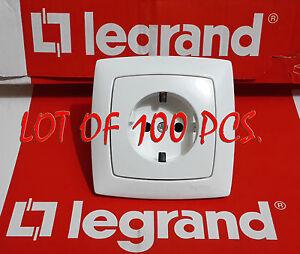 LEGRAND 774020 German standard socket outlets 10/16 A - 250 V + CROSS 11496