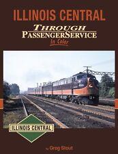Illinois Central Through Passenger Service In Color / trackside / train