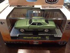 1:64 M2 Detroit-Muscle 1969 Chevrolet Camaro 250.  R37