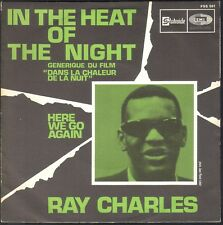 RAY CHARLES IN THE HEAT OF THE NIGHT 45T SP STATESIDE FSS561 / QUASI NEUF