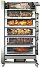 GAS CHICKEN ROTISSERIE.RADIANT 2000 - T6. MANUFACTURER REFURBISHED. WARRANTY.