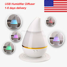 7 Colors LED Ultrasonic Aroma Humidifier Air Aromatherapy Essential Oil Diffuser