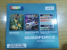 ASUS QUADFORCE 3 CD COFANETTO RETRO PC GAME IBM Vintage 486 586 PENTIUM ECC 2002