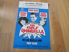 GOLF Umberella 1983  Amanda BARRIE Alexandra Theatre BIRMINGHAM  Original Poster
