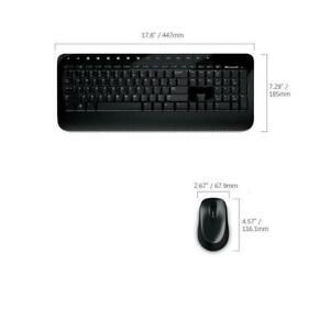 Keyboard and Mouse Kit Wireless Microsoft Desktop 2000 Version Italian