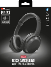 TRUST 22451 URBAN PAXO WIRELESS BLUETOOTH HEADPHONE WITH ACTIVE NOISE CANCELLING