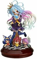 No Game No Life White 1/7 Scale ABS & PVC Painted Figure F/S w/Tracking# Japan