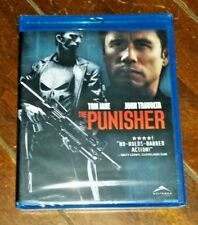 The Punisher (Blu-ray, 2004, Widescreen, Canadian) Thomas Jane/John Travolta!