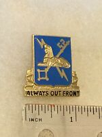 Authentic US Army Military Intelligence Corps DUI DI Unit Crest Insignia 22M