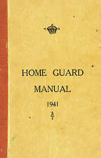 Mccutcheon-Home Guard Manual 1941  BOOK NEW